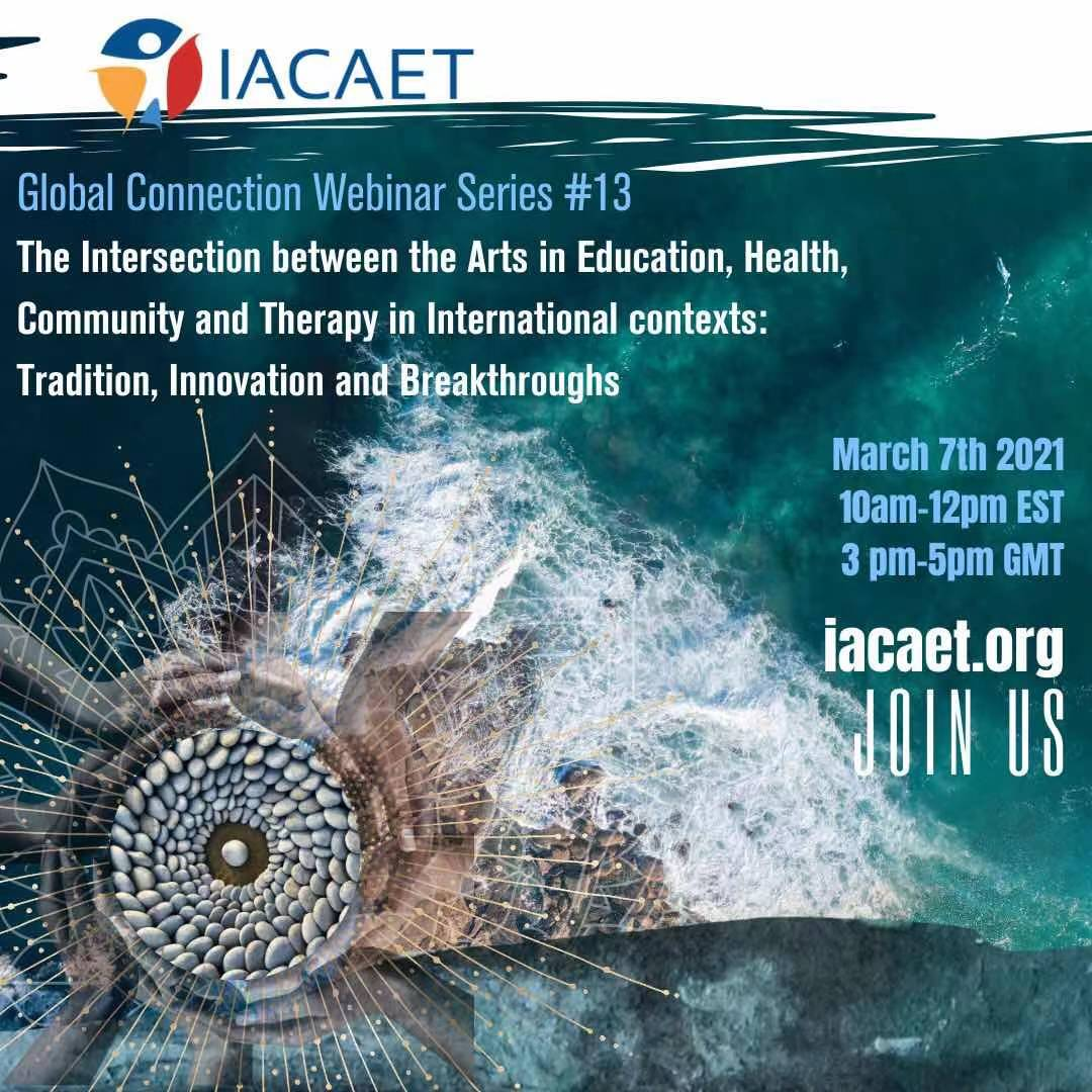 The Intersection between the Arts in Education, Health, Community and Therapy in International contexts: Tradition, Innovation and Breakthroughs
